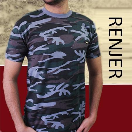 تی شرت مردانه ارتشی مدل RENJER