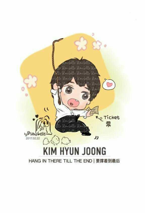 [blancbelle fanart] Kim Hyun Joong - Hang in there till the end [2017.02.22]