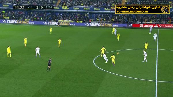 خلاصه بازی ویارئال 2-3 رئالمادرید