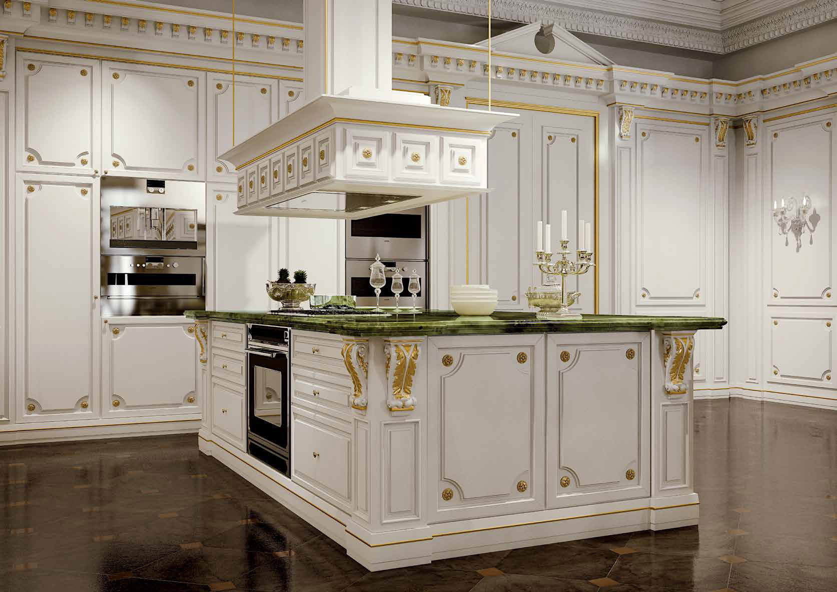 آشپزخانه, کلاسیک, لاکچری
