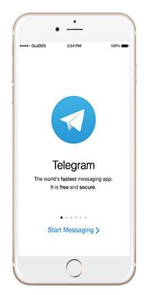 دانلود نرم افزار telegram تلگرام برای آیفون آیپد آیپاد