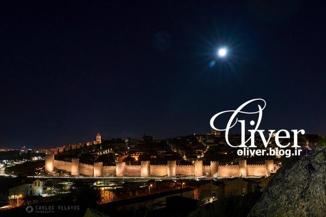 دیوار شهر «آبیل» در اسپانیا