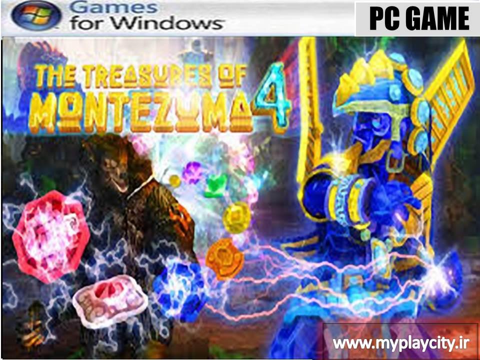 دانلود بازی the treasures of montezuma 4 برای کامپیوتر