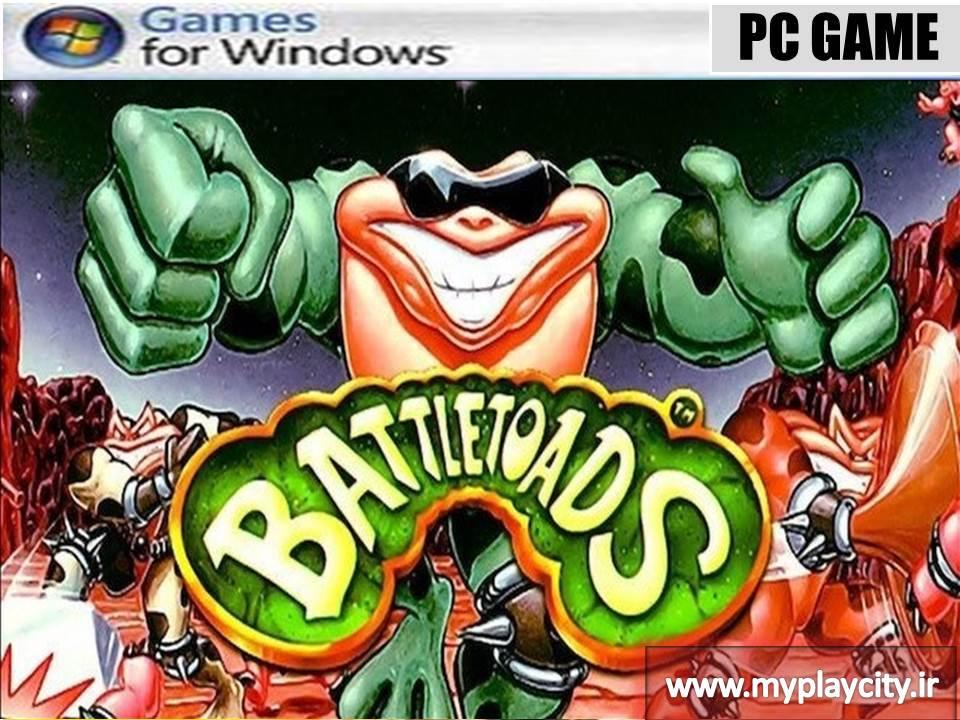 دانلود بازی غورباقه های سگا battletoads برای کامپیوتر