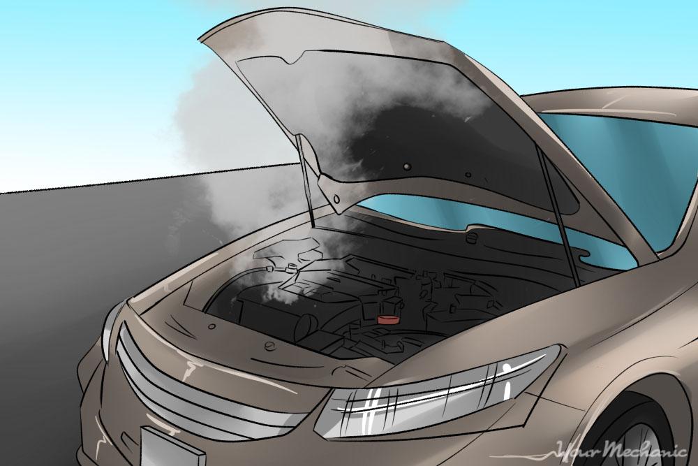 متداول ترین مشکلات خودرو - جوش آوردن موتور