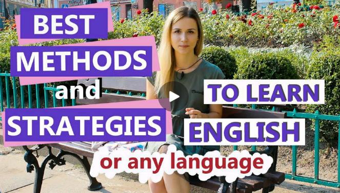 یادگیری انگلیسی و یا هر زبانی با بهترین متد واستراتژی