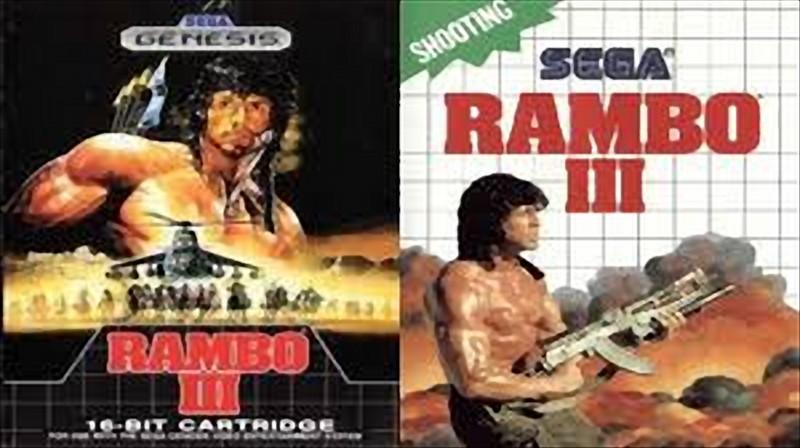 دانلود بازی رامبو 3 سگا Rambo III برای کامپیوتر