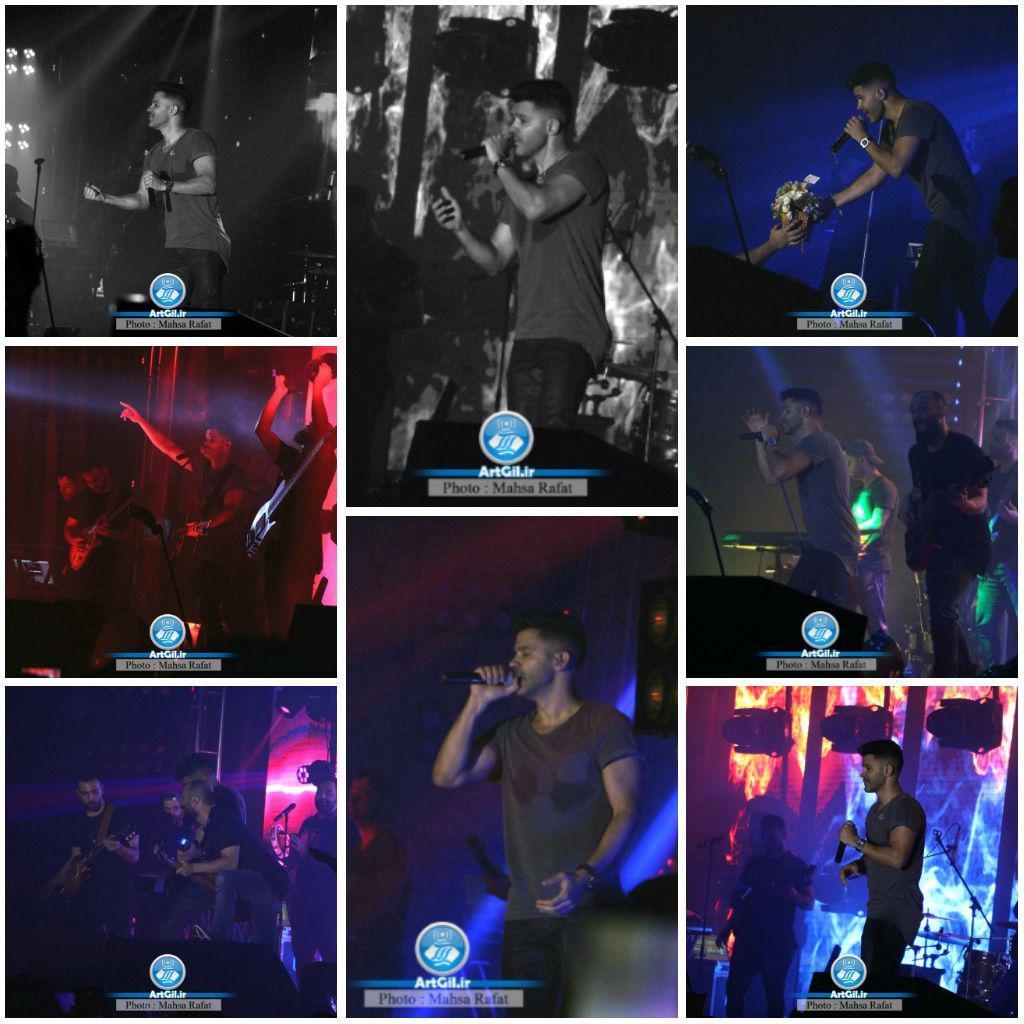 کنسرت سیروان خسروی در منطقه آزاد انزلی