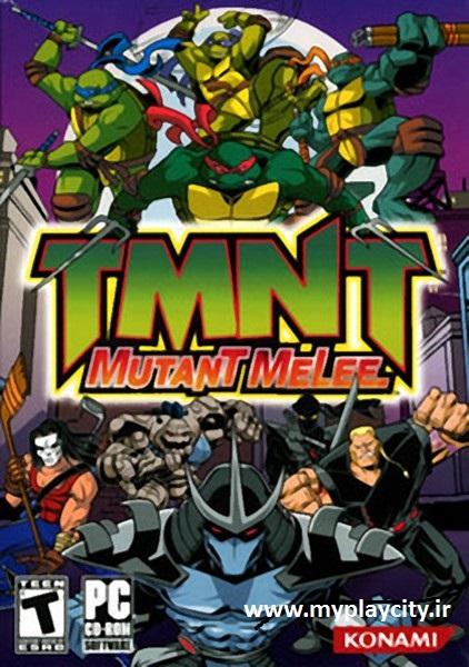 دانلود بازی TMNT Mutant Melee برای کامپیوتر