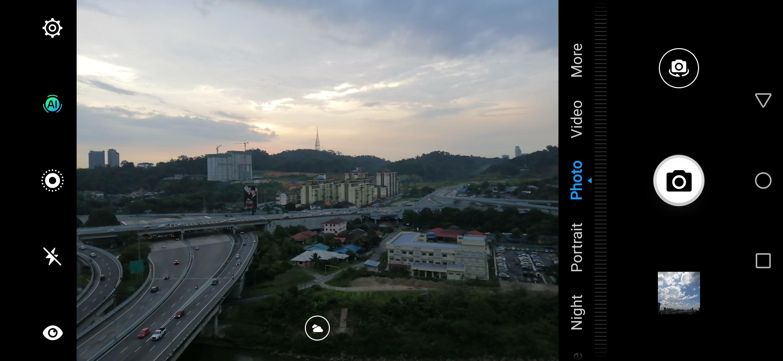 تصویر گرفته شده با دوربین Huawei Y9 2019