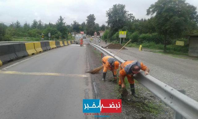 گزارش تصویری حوزه مدیریت خدمات شهری از هفته بیستم طرح پاکسازی هفتگی محلات شهر رشت