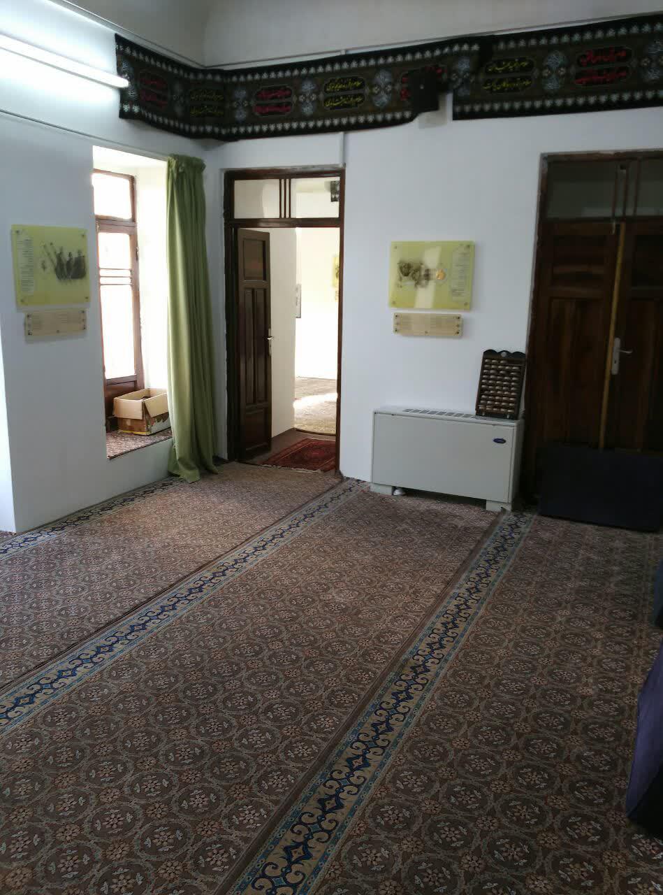 اتاق محل دیدارهای امام خمینی