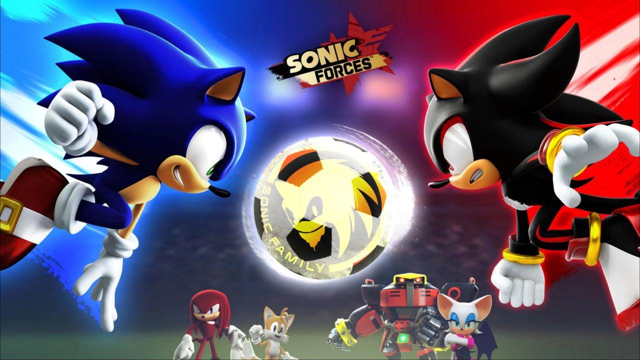 Sonic Forces 2.13.0 دانلود بازی نیروهای سونیک اندروید