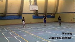 Basketball shooting drills. How to improve your midrange game