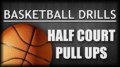 Basketball Drills: Shooting Drill Half Court Pull Ups