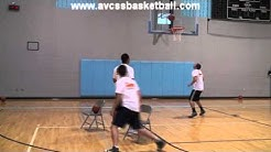 "Chair Shooting Drills ""Elbow to Wing"" Left Side for Youth Basketball"