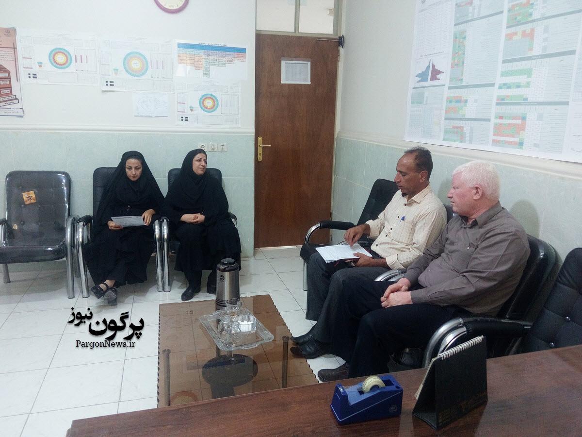 آغاز انجام معاینات وتشکیل پرونده الکترونیک دانشجویان جدید الورود در شهرستان قیروکارزین