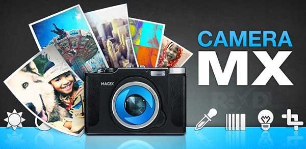 برنامه camera mx برای اندروید