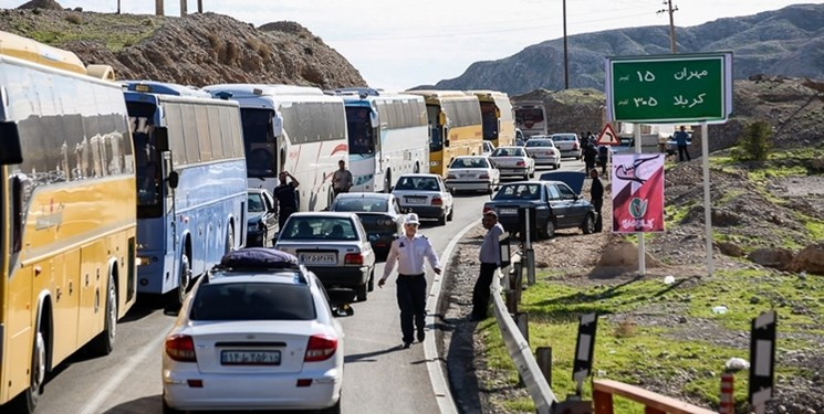 اعلام نرخ دقیق بلیط اتوبوس تا مرز مهران/افزایش ۲۰ درصدی تردد زوار حسینی از مرزهای گیلان