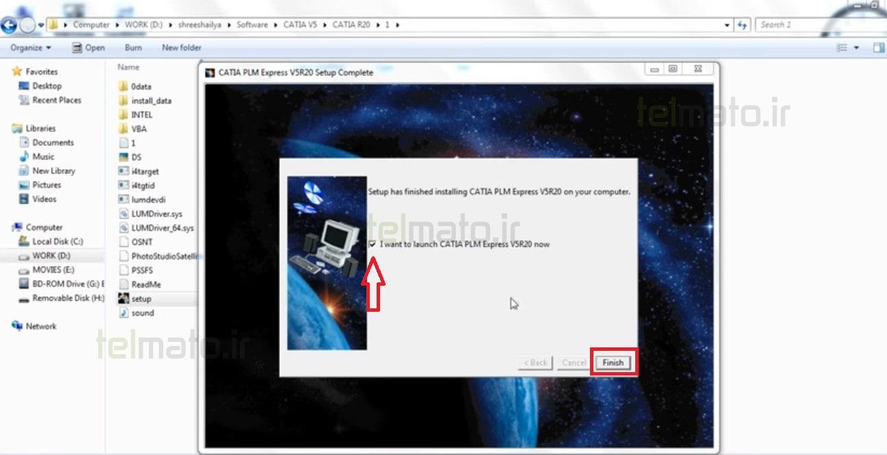 آموزش و راهنمای تصویری نحوه نصب و فعالسازی ( کرک ) نرم افزار کتیا 2019 ( Catia V5R21 )
