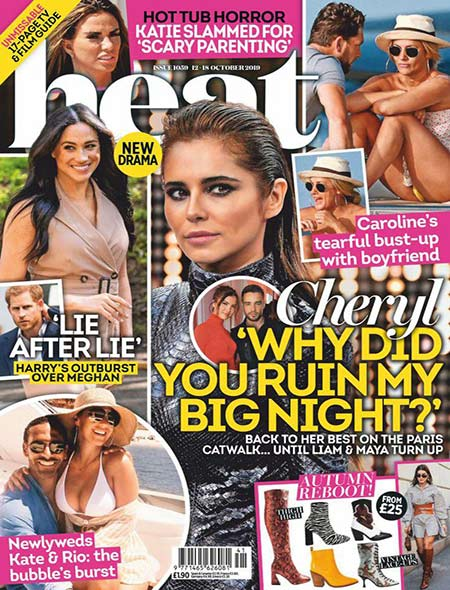 Free Download Heat UK Magazine – 12 October 2019